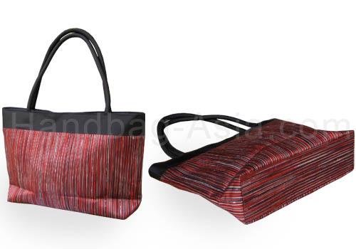 Thai silk shoulder handbag