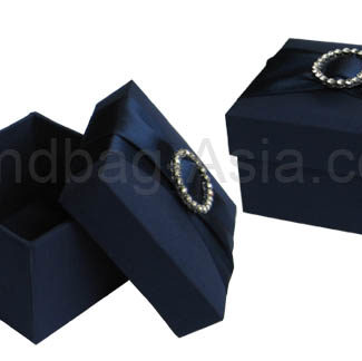 wedding favor box with buckle