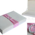 Heart buckle wedding box
