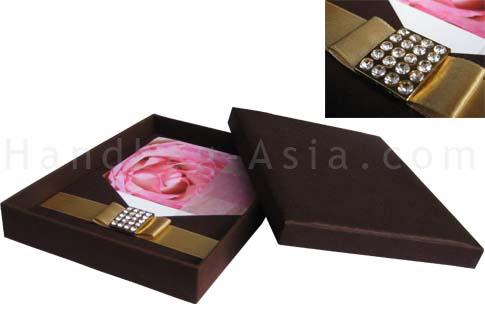luxury boxed wedding invitation