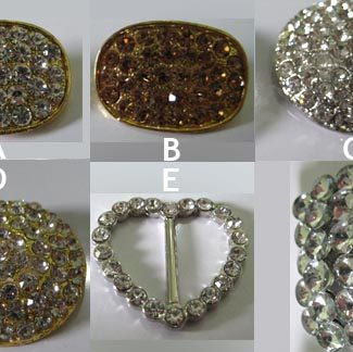 wedding crystal brooches