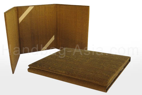 Three fold portfolio for wedding cards and pictures