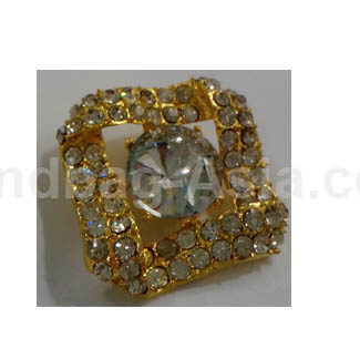 golden wedding brooch for embellishment