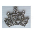 small silver rhinestone crown