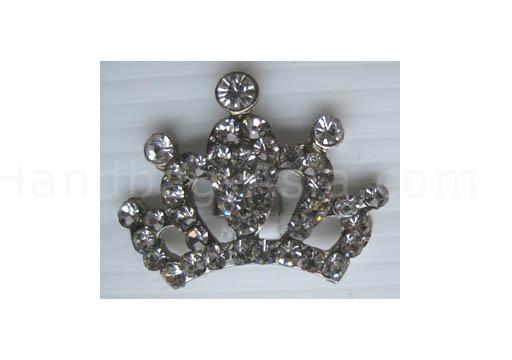 small silver rhinestone crown