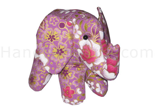 Cotton elephant with foam filling for events