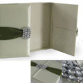 Luxury couture wedding invitation box