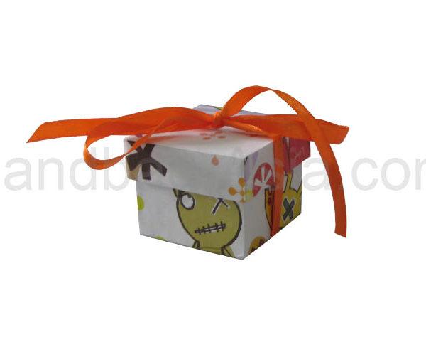 printed kids paper favor box