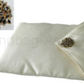 ivory wedding & jewellery pouch