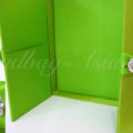 Chartreuse Wedding Box For Invitation Cards
