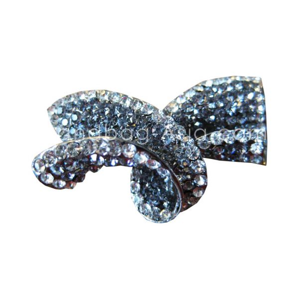 luxury wedding bow brooch