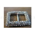 rectangle crystal buckle