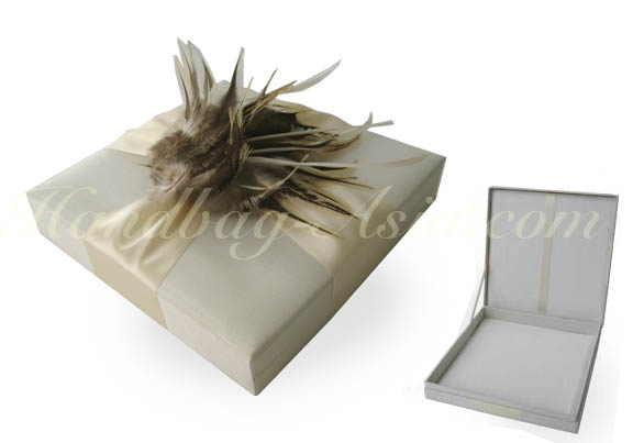 Ivory Couture Wedding Box