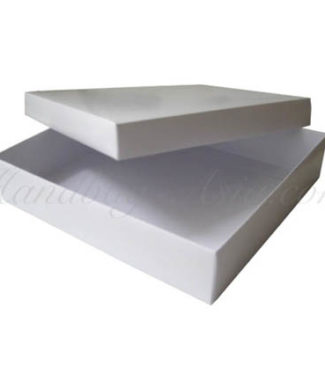 white mailing boxes