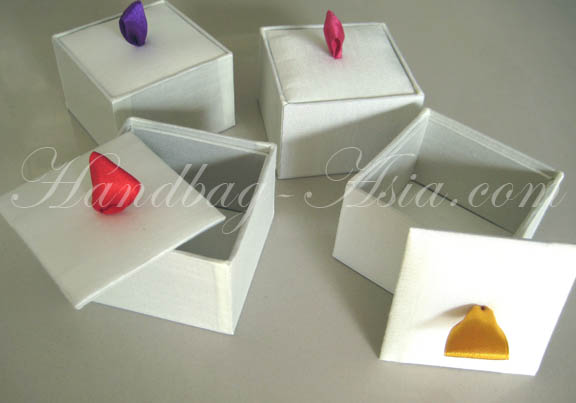 ivory silk gift box