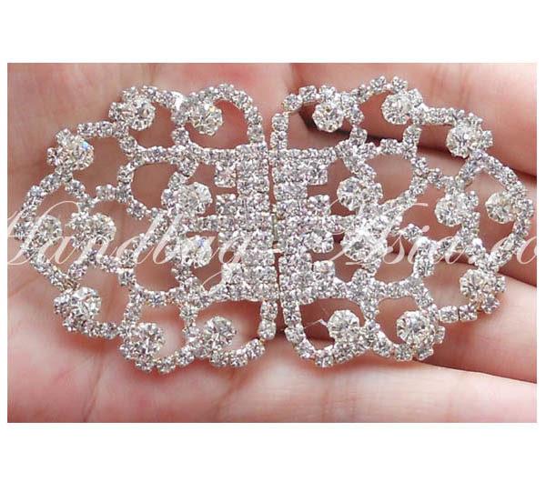 rhinestone crystal clasp embellishment