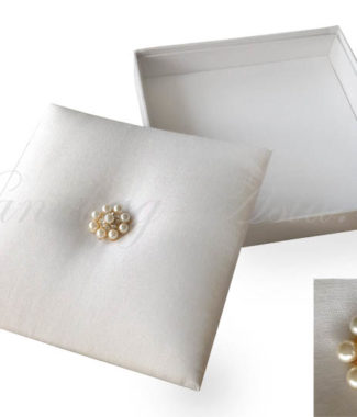 white pearl wedding box
