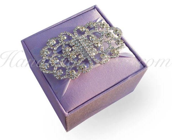 luxury wedding favor box