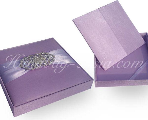 embellished wedding invitation box