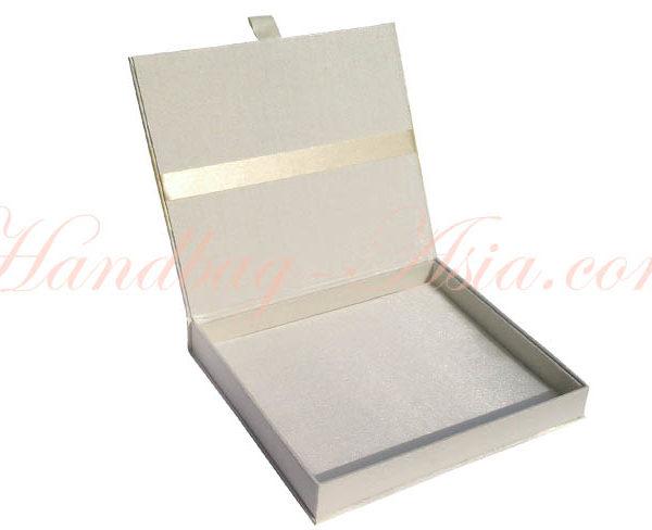 plain ivory wedding box