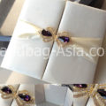 Couture Silk Pocket Fold For Wedding Cards