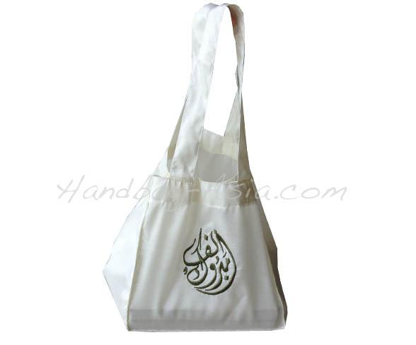 embroidered silk shoulder bag
