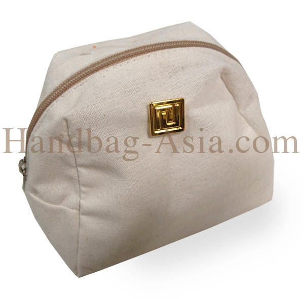 cotton cosmetic bag for event promotion gift and corporate
