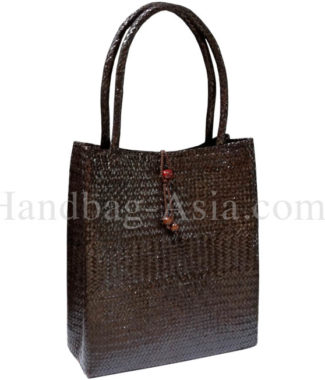 Big bamboo shoulder handbag