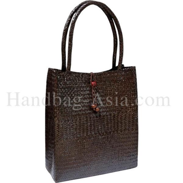 Big bamboo shoulder handbag