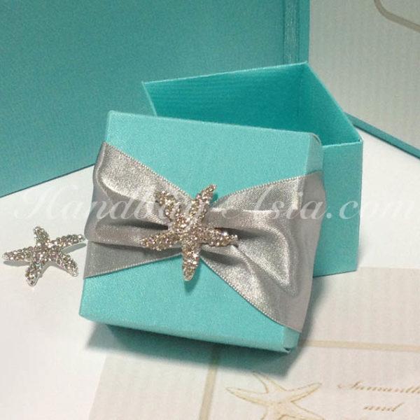 starfish favor box