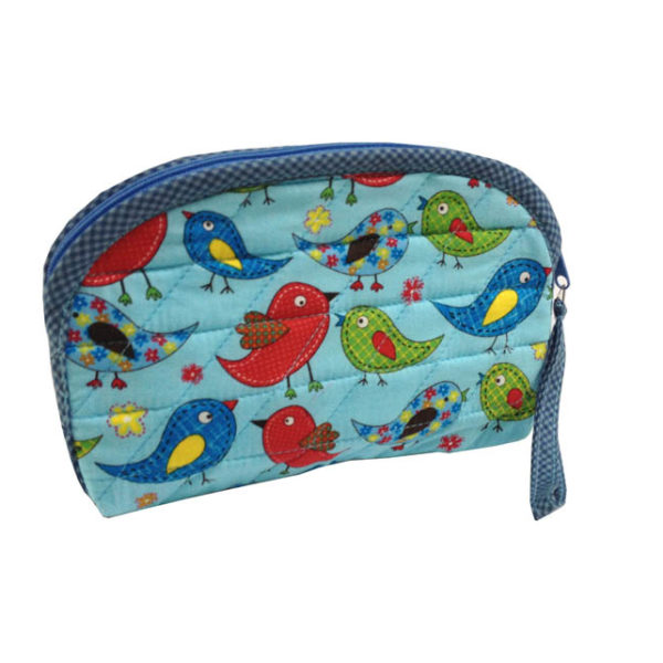 cute cotton cosmetic bag