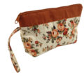 printed cotton cosmetic bag from Thailand