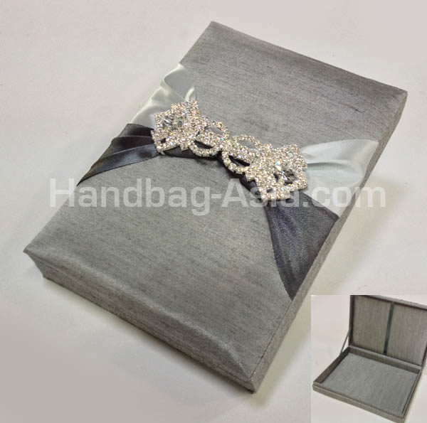 couture wedding invitation box