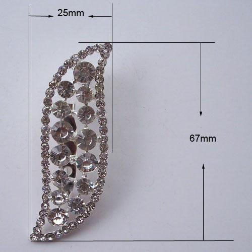 tamarind crystal brooch