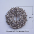 Luxury Rhinestone Buckle Embellishment