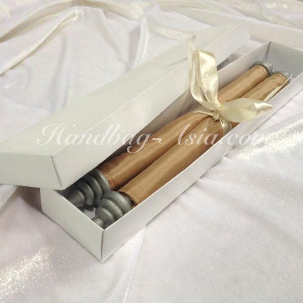 scroll invitation in a box
