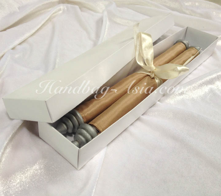 Scroll invitation in mailing box handbag asiacom for Wedding invitation mailing boxes