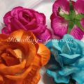 hand-made paper flowers