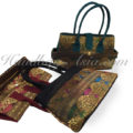 Traditional Thai silk ladies bags