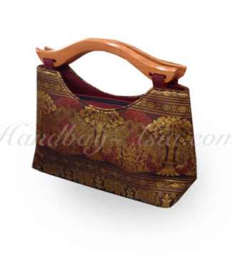 Thai Made Brocade Silk Handbag