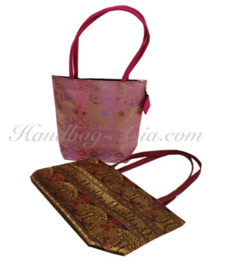 Brocade Thai Silk Bag