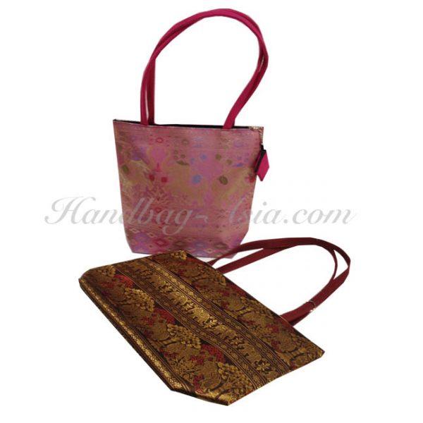 Brocade Thai Silk Bag