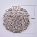 large rhinestone crystal brooch for wholesale