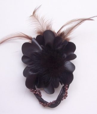high end feather embellishment
