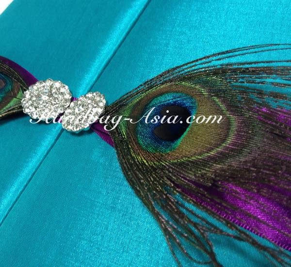 peacock wedding embellishment