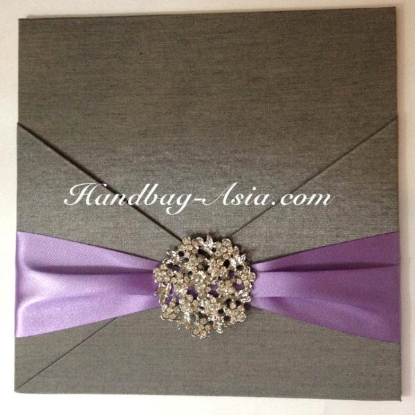 silk invitation pad for wedding cards