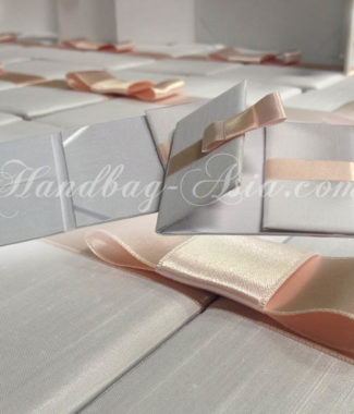 Luxury wedding invitation folder