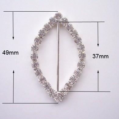crystal buckle embellishment