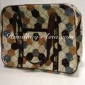 Large Quilted Cotton Travel Bag