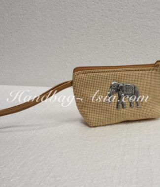 small cotton phone bag